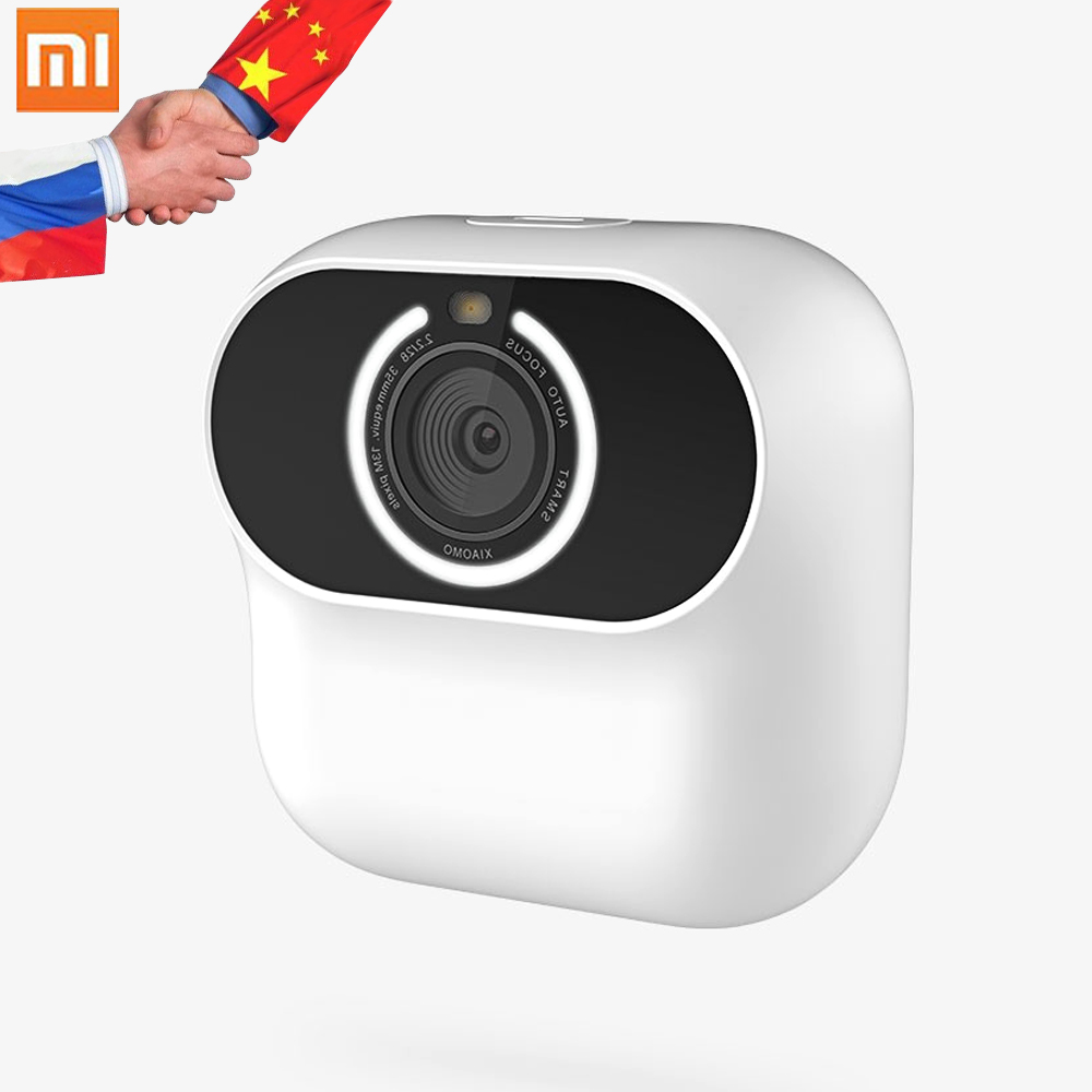 Xiaomi Xiaomo AI camera Mini camera 13MP CG010 Self Portraits Intelligent Gesture Recognition Free Shooting Angle Cam Smart APP|Smart Remote Control| |  - title=