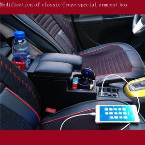 Image 4 - Rangement Lagerung Accoudoir De Voiture Arm Rest Auto Styling Armlehne 2009 2010 2011 2012 2013 2014 2015 FÜR Chevrolet Cruze