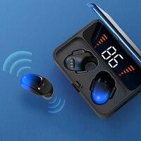 Bluetooth Earphones 5.0 9D Stereo Wireless ir ear headset LED Smart Power For Huawei Mate 20 X Mate 30 Mate 20 Pro P Smart 2019