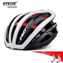 サイクリングヘルメット超軽量自転車ヘルメット一体成型ロードサイクリングヘルメットマウンテンバイクヘルメット 30 穴 PMT 2019 ホット販売