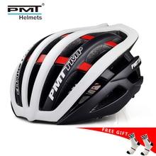 Casco de bicicleta ultraligero casco de bicicleta integrado de carretera casco de bicicleta de montaña 30 agujeros PMT 2019 gran oferta