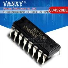 10PCS CD4520BE DIP16 CD4520 DIP 4520BE DIP16 nuovo e originale IC