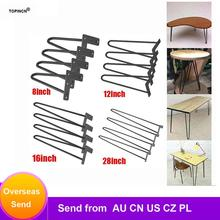 Desk-Legs Furniture Sofa Iron Metal Table Home-Accessories 8/12/16/28inch-table 4pcs
