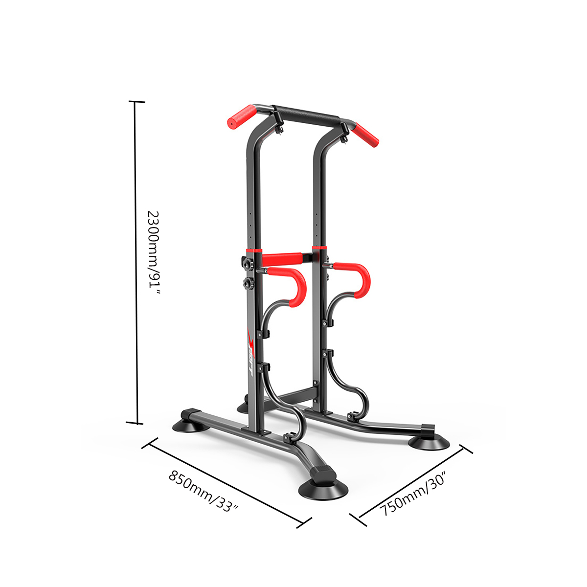 Multi Grip Chin Up Push Up Horizontal Bars Gym Station Power Rack Indoor Fitness Training Height