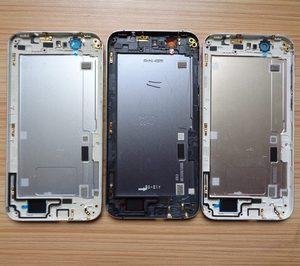 Image 3 - Für Huawei G7 Batterie Abdeckung Zurück Gehäuse Hinten Tür Fall Für Huawei Ascend G7 Batterie Abdeckung + Power Volumen Taste + Top Untere Abdeckung