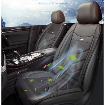 12V 4 Built-in Fan 3 Speeds Cooling Auto Seat Cushion Cover Air Ventilated Conditioned Cooler Pad Covers