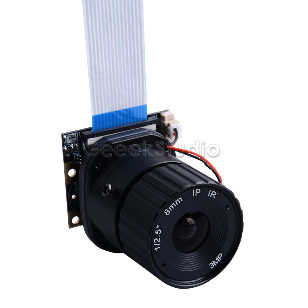 8MM Raspberry Pi Camera Module OV5647 5MP Focal Length For Raspberry Pi 4 Model B /3B(+)/2B/B+/Zero(w) / Jetson Nano / Banana Pi