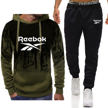 Hot sale men sets Brand hoodies Sportswear tracksuits + Pants sports suits for Hoodies