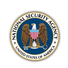 Car Sticker National Security Agency America Flag Automobiles Motorcycles Exterior Accessories PVC Decal,15cm*15cm rockdale ic016 15cm
