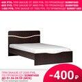 Кровать Рио (Венге цаво/Молочный дуб, ЛДСП, Венге цаво, 1200х2000 мм) Планета мебель