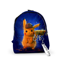 New Cartoon Pikachu Backpacks Printing Backpack For Teenage Pokemon Girls&Boys Laptop School Bags Mochila forudesigns fashion men backpacks cool 3d animal tiger printing school backpack for teenage boys children mochila rucksack man