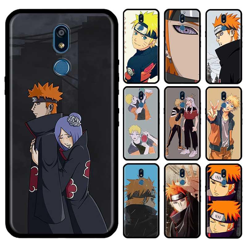 Akatsuki Pein Konan NARUTO Case For LG G6 G7 G8 Thinq K40 K40s Q51 Q60 Q61 Q70 K41s K50s K51s K61 Tpu Phone Carcasa Capas