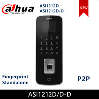 Dahua Access Control Water proof Fingerprint Standalone Touch Keyboard LCD Display Support P2P Add Service ASI1212D ASI1212D D