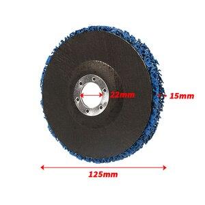 Image 4 - دروبشيب 2 قطعة 125 مللي متر 115 مللي متر 5 بوصة 46 حصى قرص الطحن عجلة ل زاوية طاحونة جلخ أدوات الأرجواني الأسود الأزرق