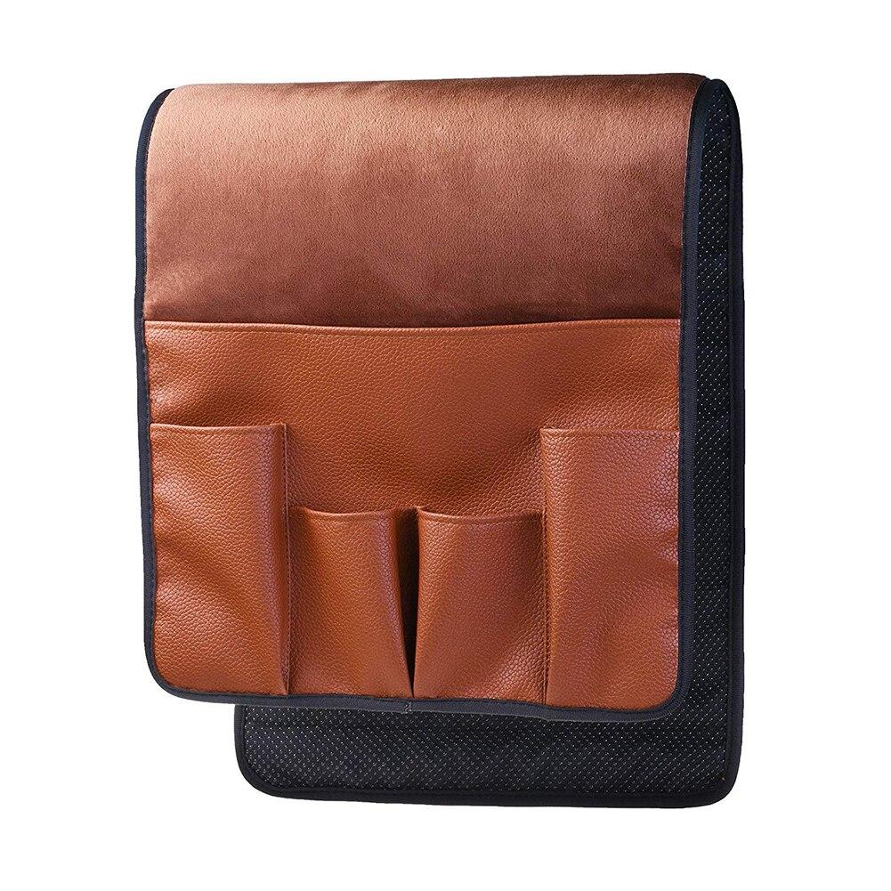 5 Карманы кресла Экономия пространства мешок для хранения диван Нескользящие Органайзер софа стороны дома подлокотника подвесной пульт ди...