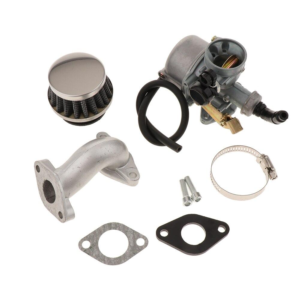 PZ19 Carb 19mm Carburetor Air Filter For 50cc 70cc 90cc 110cc ATV Quad with Intake Pipe Gasket|Carburetors| - AliExpress