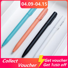 Nusign Neutral Pen With Black 0.5mm Pen Refill Colorful Gel Pens Rotary Switch Smooth Writing Pens For Student Official