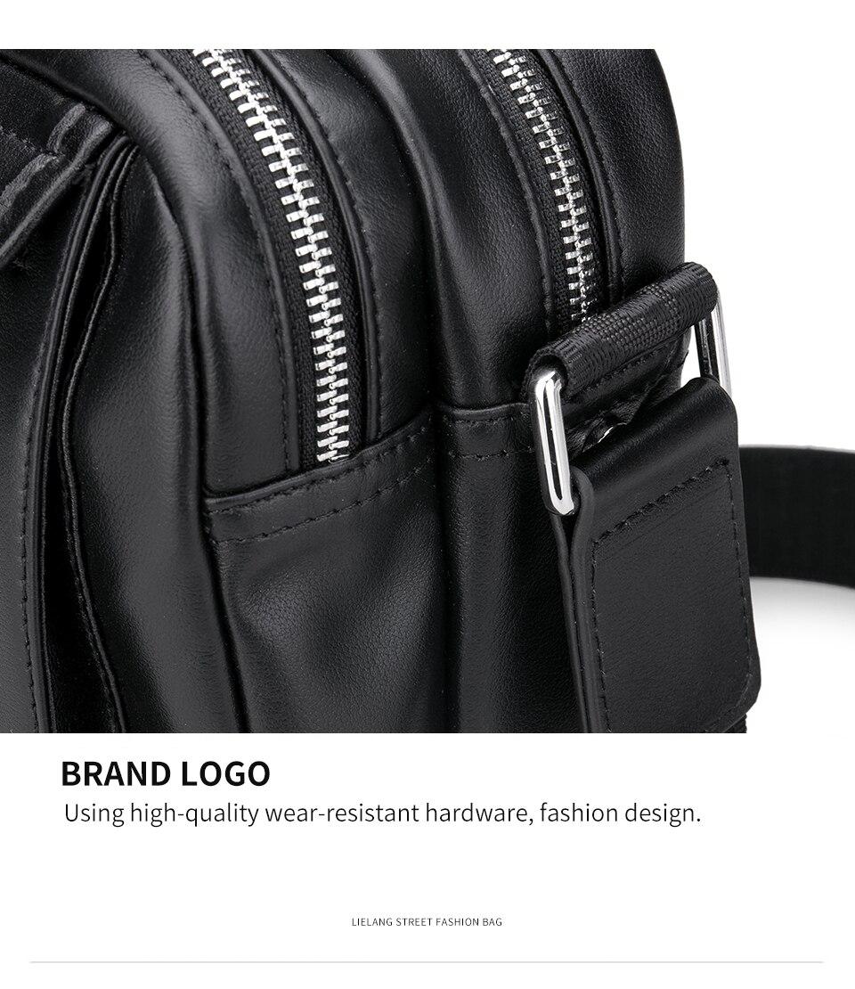 Lielang 100% sacos de ombro de couro