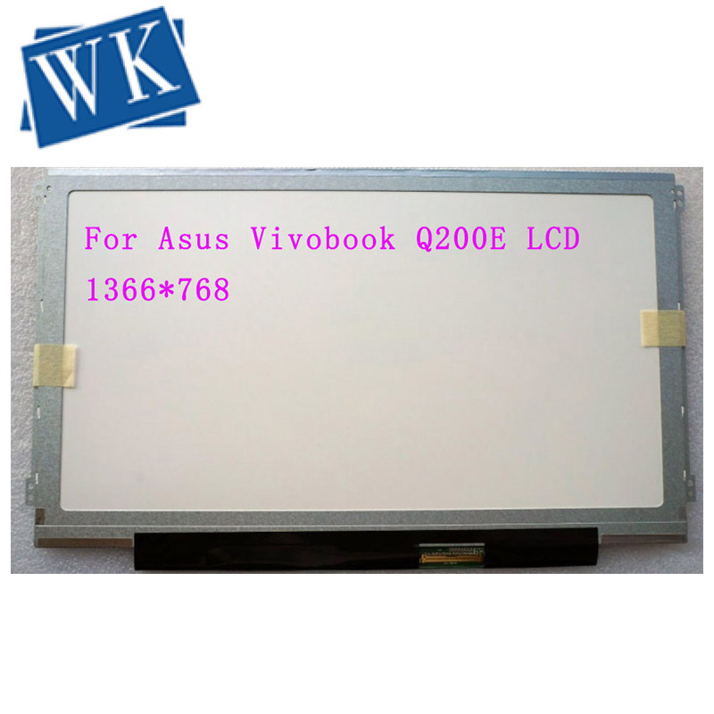 11.6'lcd matrix For <font><b>Asus</b></font> Vivobook Q200E <font><b>X200CA</b></font> X200MA S200E X202E 1366*768 40 pin laptop lcd screen image