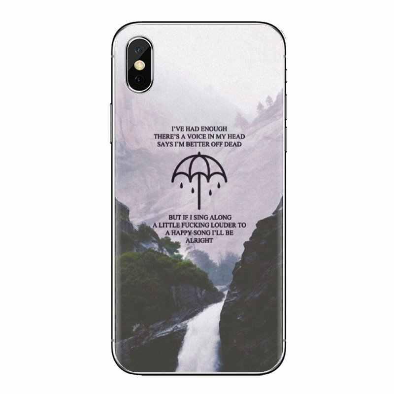 TPU funda para iPod Touch Apple iPhone 4 4S 5 5S SE 5C 6 6S 7 7 8 X XR XS Plus MAX Me trae el horizonte Metalcore