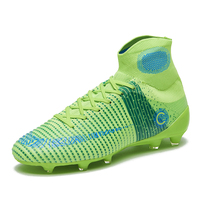 Men's Outdoor Football Boots Turf Cleats Soccer Shoes Professional Football Shoes Training Sports Sneakers Man Chuteira Futelbol|Soccer Shoes| |  -