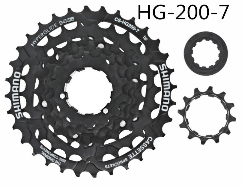 Shimano CS-HG20-7 MTB Bike 7 Speed Cassette Rear Sprocket 12-28T