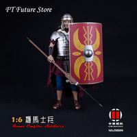 ZH009 1/6 Collectible Full Set Ancient Soldiers Model Roman Soldier Warrior Head Body Clothes Weapon for Fans Gifts