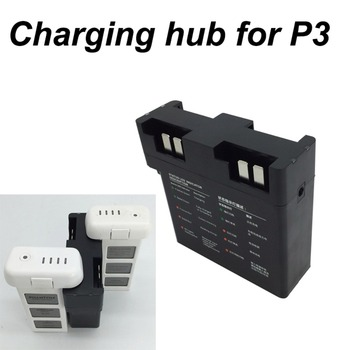 4 IN 1 Battery Charger Parallel Charging Hub Board for DJI Phantom 3 Drone Quick Charger Smart Flight Battery Manager Spare Part