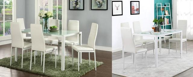 6PCS  Leather Dining Chairs  5