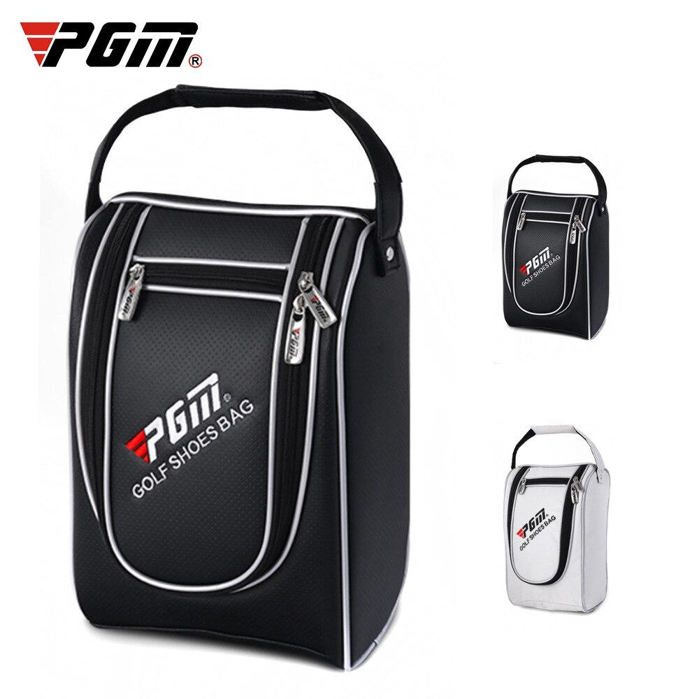 Golf Sport Shoes Bag Multifunction Travel Tote Bag Light Practical Travel Pack Shoe Pouch Waterproof Dustproof Handbags 2 Colors