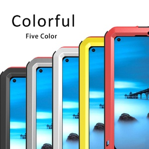 Image 5 - Case For Huawei Nova 4 Cover Full Body Protection Armor ShockProof Defender  Phone Case Metal Heavy Duty Protection Cover Nova 4