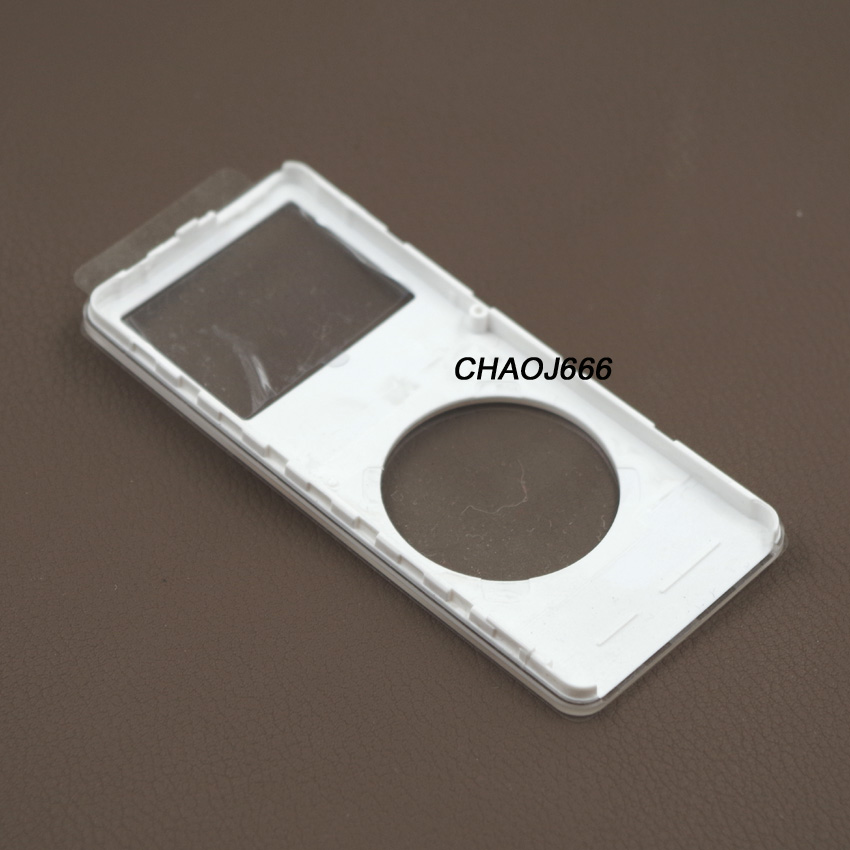 black front faceplate metal back housing case cover for ipod nano 1st gen 4gb