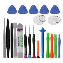 21 в 1 Набор инструментов для ремонта мобильного телефона Spudger инструмент для открывания отвертка набор ручных инструментов набор