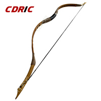 Hungarian style 20 60lbs Archery Handmade Hunting bow brown Longbow Recurve bow Traditional bow