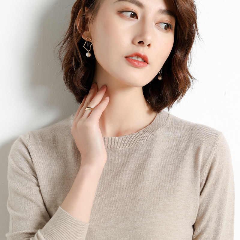 New pull femme nouveaute 2019 Herbst frühling Pullover Pullover Lange Hülse jersey mujer frauen pullover Gestrickt ropa mujer