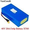 VariCore 48V 20ah 13s6p литиевый аккумулятор 48V 20AH 2000W электрический велосипед аккумулятор встроенный 50A BMS XT60 разъем