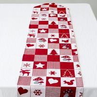 Christmas Rain Deer Linen Textile Table Runner Home Textile New Year Office Building Festival Decor Cover|Table Runners| |  -