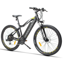 27.5 inch electric mountian bicycle 48V hidden lithium battery 400w motor ebike  off-road emtb Travel assist