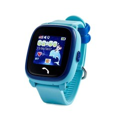 Kinder smart watch mit GPS CARCAM GW400S Blau