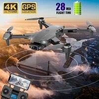 Nuovo L900 Pro Gps Drone 4k Hd doppia fotocamera professionale elicottero Fpv Dron pieghevole Rc Quadcopter 5G Wifi droni motore Brushless