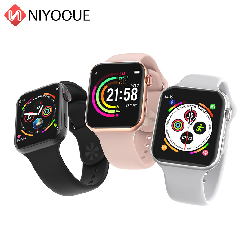 F10 Smartwatch IP68 waterproof Heart Rate Monitor Bluetooth Sport Fitness Tracker Men for iPhone xiaomi Androidphone