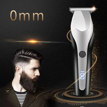 100 240 Professional Hair Clipper Cordless Electric Hair Trimmer 0 mm hair cutting Machine Beard Trimmer rechargeable
