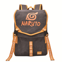 Naruto One Piece Backpack Anime Cosplay Women Men Canvas Print Bag  Student School Shoulders Bags Cartoon Cute Cool Traval Bag anime one piece cosplay monkey d luffy student bag college wind shoulder bag men and women backpack graffiti canvas bag