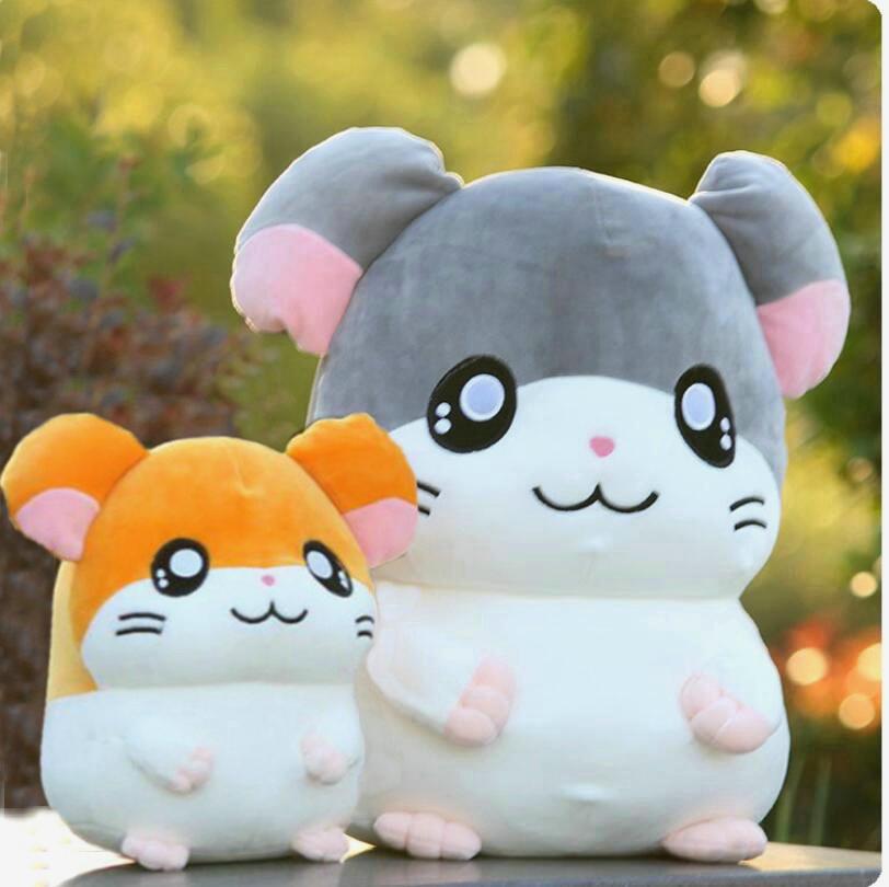 Hamtaro Plush Toy Super Soft Japan Anime Hamster Stuffed Doll Toys For Children Cartoon Figure Toys For Kids Birthday Gift