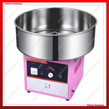 OT63 LPG Gas Candy Floss Maker 20.5 Inch Commercial Cotton Candy Floss Machine Stainless Steel ce approved stainless steel cart spinning mini cotton candy machine many flavour professional cotton candy machine