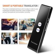 T8 çevirmen sesli gerçek zamanlı anında çoklu dil konuşma interaktif çevirmek BT APP taşınabilir akıllı Translaty