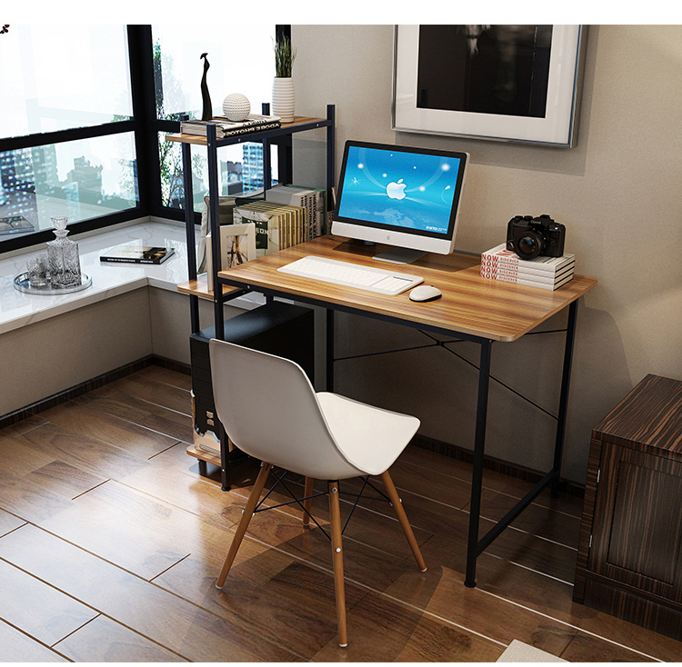 Computer Desk Desk Home Simple Desk Bookshelf Combination Simple Modern Student Writing Corner Table