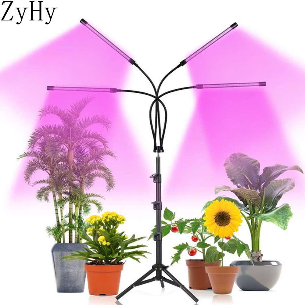 LED Plant Grow Light 5V USB Bracket Red Blue Full Spectrum For Indoor tent seedling VEG flower phyto lamp fitolampy|LED Grow Lights| - AliExpress