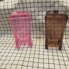 Настольный прозрачный ящик для хранения хлопка пластиковый материал