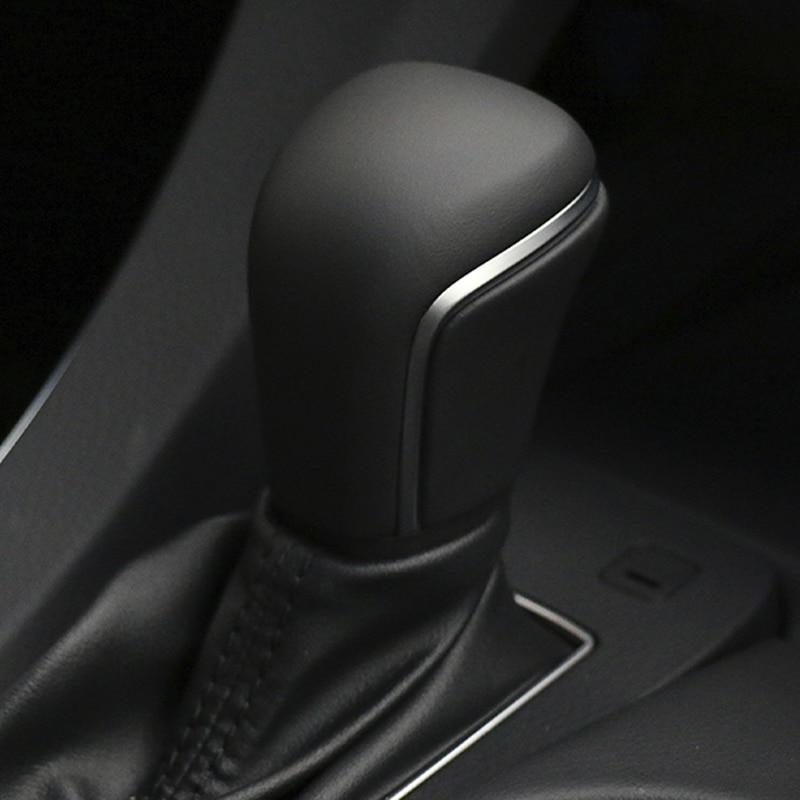 Высококачественный рычаг ручка переключения передач кожаная головка переключения передач для Toyoto для Camry 2018 2019 2020 запасные аксессуары